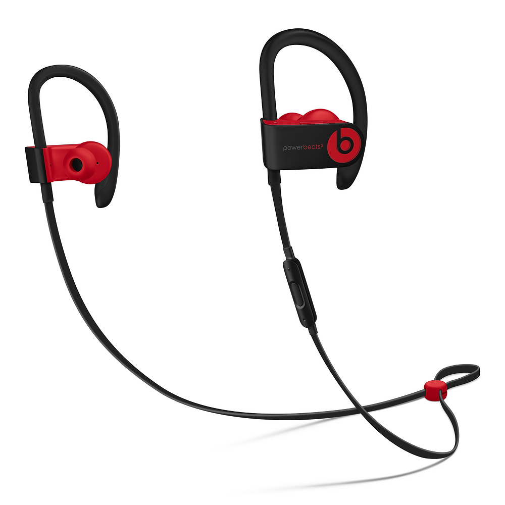 Casti Beats Powerbeats3 Wireless Decade Collection Defiant Black-Red