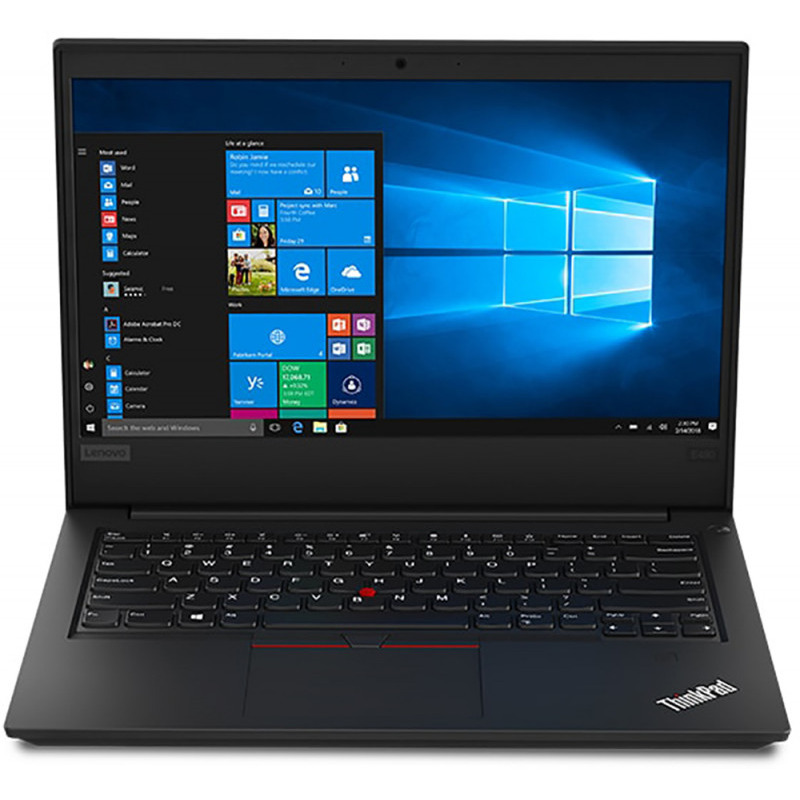 Notebook Lenovo ThinkPad E490 14 Full HD Intel Core i7-8565U RAM 8GB SSD 256GB Windows 10 Pro