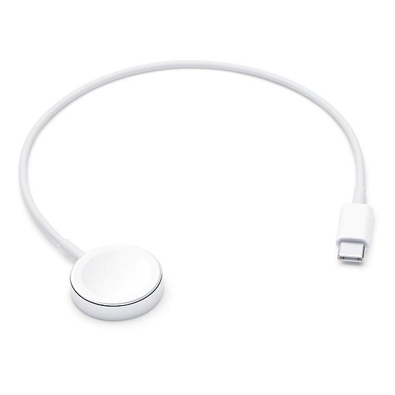 Cablu de incarcare Apple Magnetic Charging to USB-C pentru Apple Watch 0.3 metri