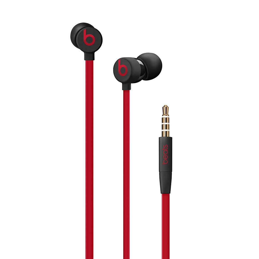 Casti Beats urBeats3 3.5mm Plug Decade Collection Defiant Black-Red