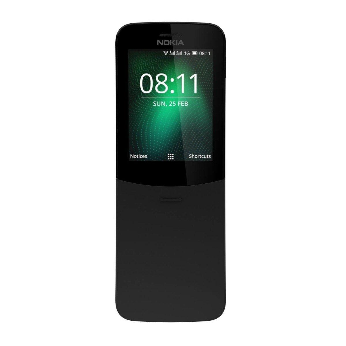 Telefon Mobil Nokia 8110 Single SIM 4G Black
