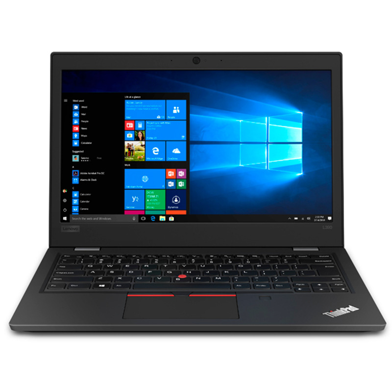 Notebook Lenovo ThinkPad L390 13.3 Full HD Intel Core i3-8145U RAM 8GB SSD 256GB Windows 10 Pro Negru
