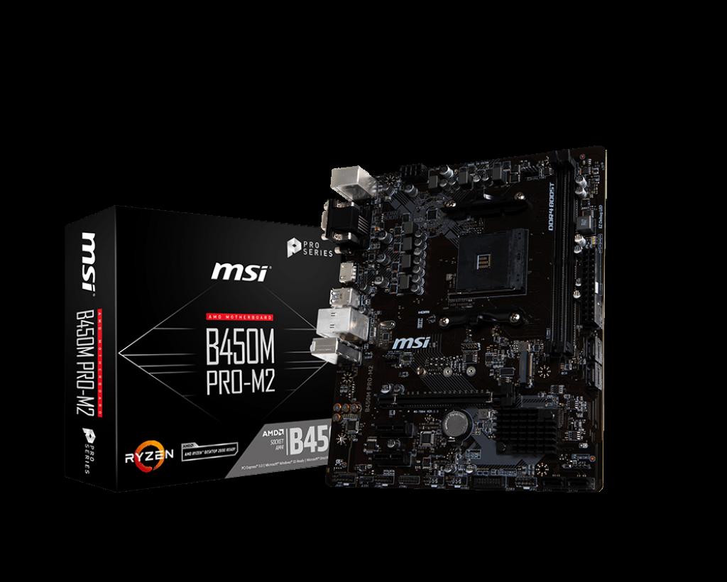 Placa de baza MSI B450M PRO-M2 Socket AM4
