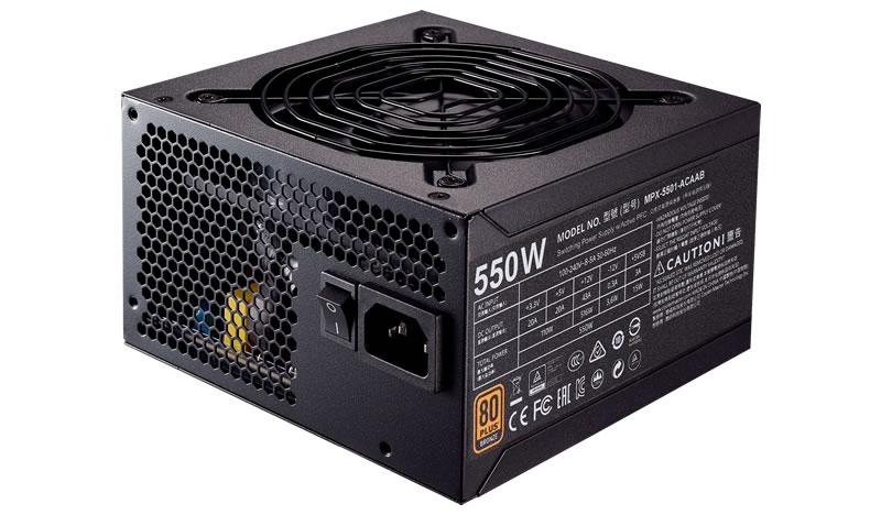 Sursa PC Cooler Master MWE BRONZE 550 550W