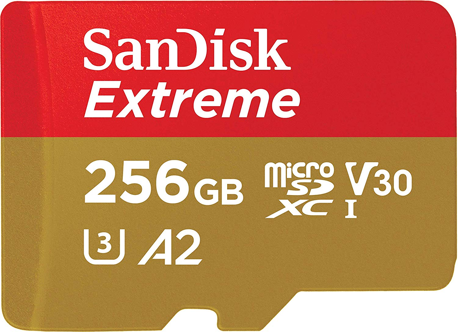 Card de memorie SanDisk Extreme Micro SDXC 256GB UHS-I V30 CL10