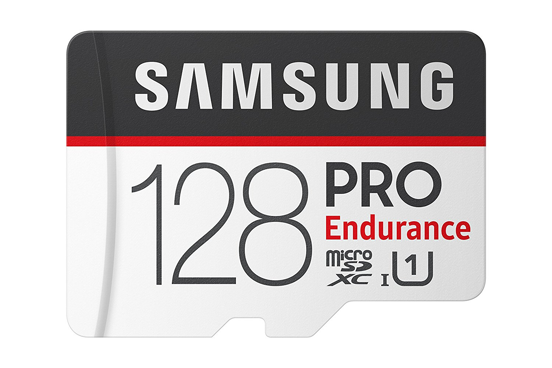 Card de Memorie Samsung PRO Endurance Micro SDXC 128GB UHS-I CL10 + Adaptor