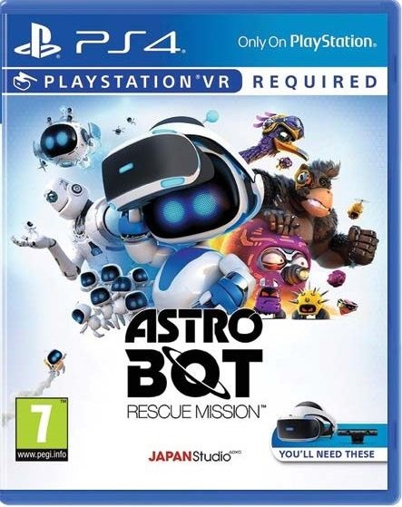 Astro Bot Rescue Mission VR - PS4