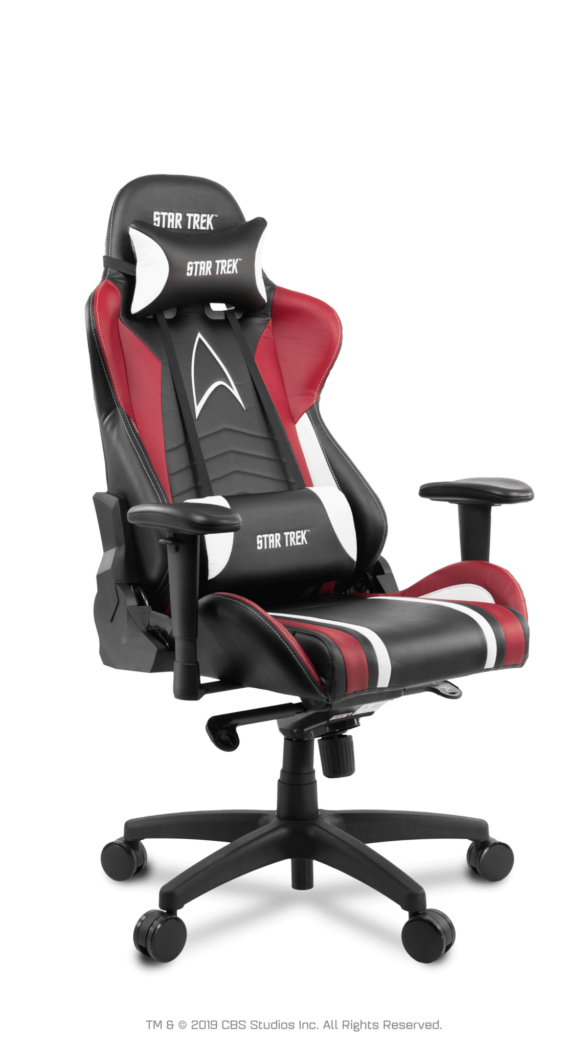 Scaun Gaming Arozzi Star Trek Edition - Red