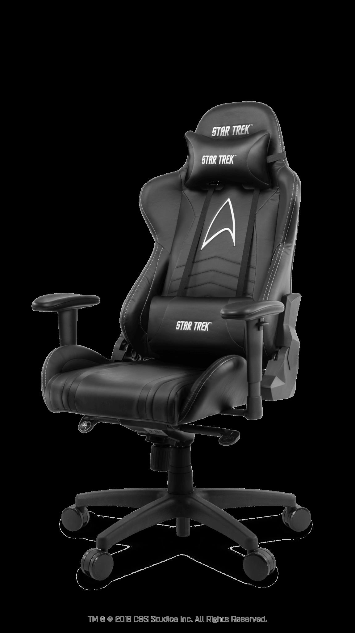 Scaun Gaming Arozzi Star Trek Edition - Black