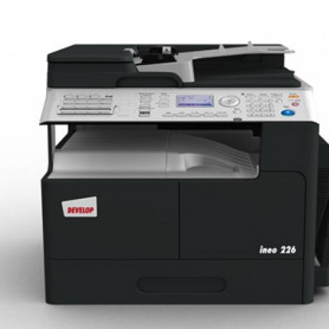 Multifunctional Laser Monocrom Develop Ineo 226 + ADF DF-625 + Duplex AD-509 + Placa retea NC-504 + MK-749