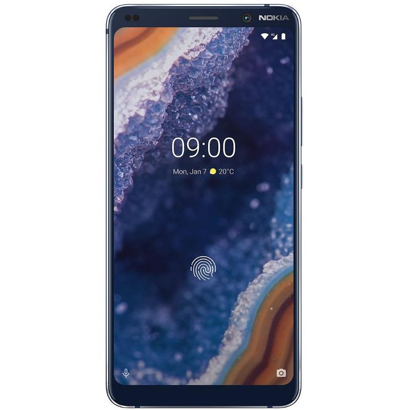 Telefon Mobil Nokia 9 PureView 128GB Flash 6GB RAM Dual SIM 4G Midnight Blue