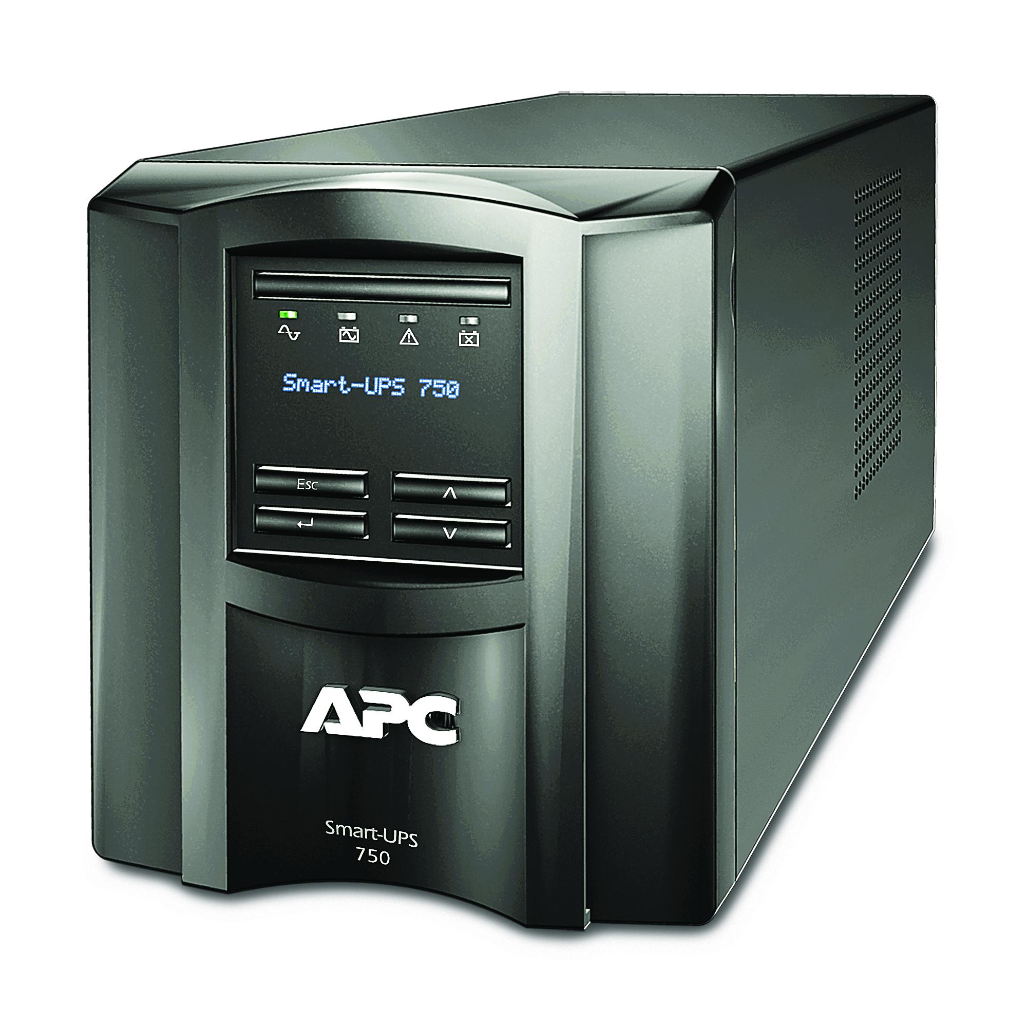 UPS APC Smart-UPS SMT750IC 750VA/500W 6xIEC 320 C13