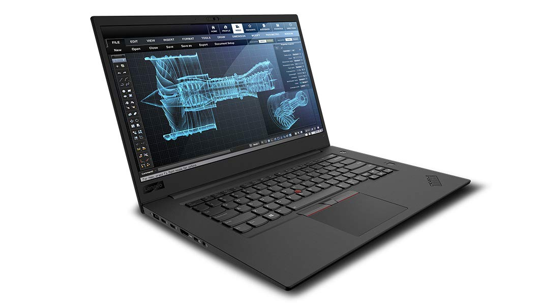 Notebook Lenovo ThinkPad P1 15.6 Full HD Intel Core i7-8850H P1000-4GB RAM 16GB SSD 1TB Windows 10 Pro