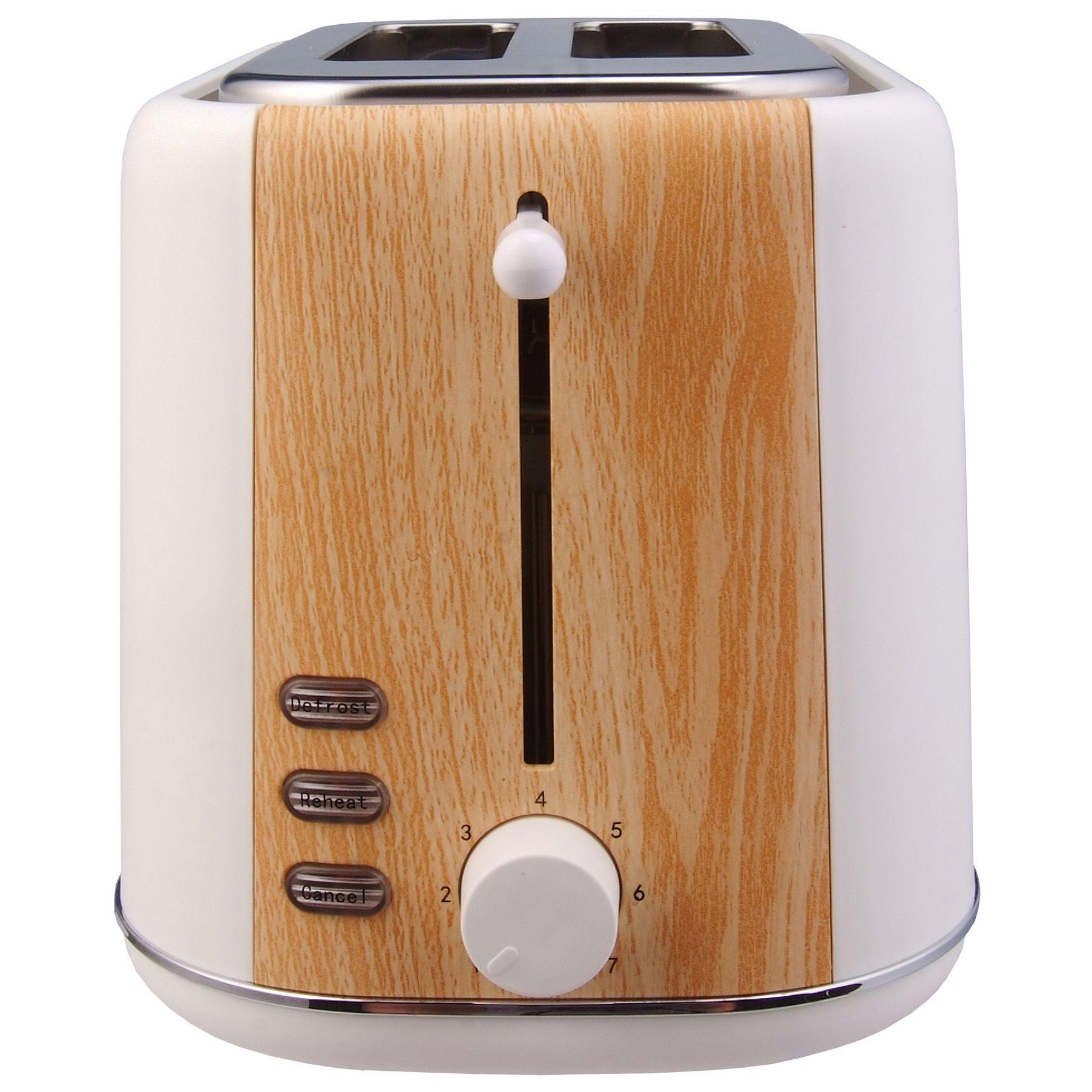 Prajitor de paine Heinner Soft Wood HTP-WH800BB 800W 7 nivele de rumenire