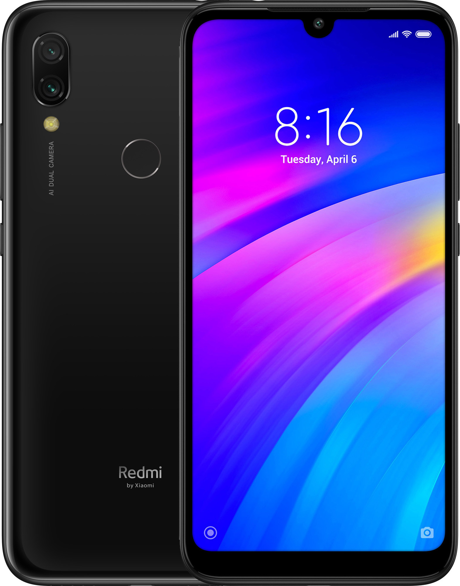 Telefon Mobil Xiaomi Redmi 7 64GB Flash 3GB RAM Dual SIM 4G Black
