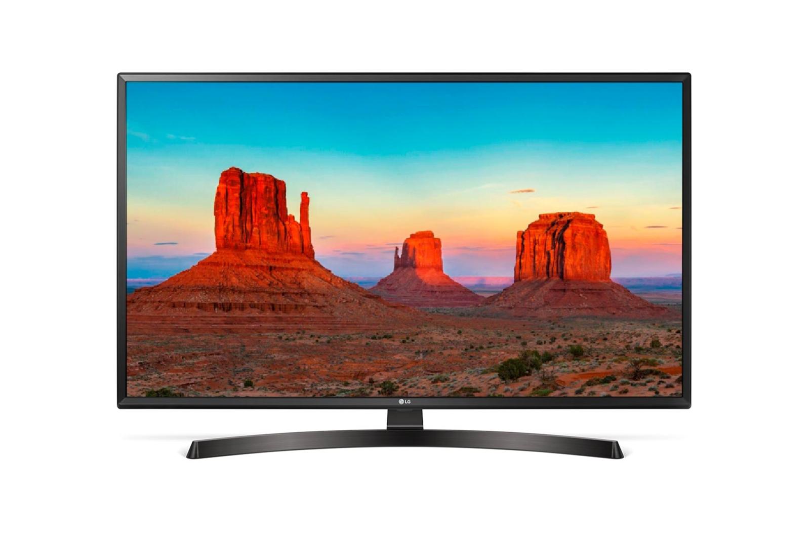 Televizor LED LG Smart TV 43UK6470PLC 108cm 4K Ultra HD HDR Negru