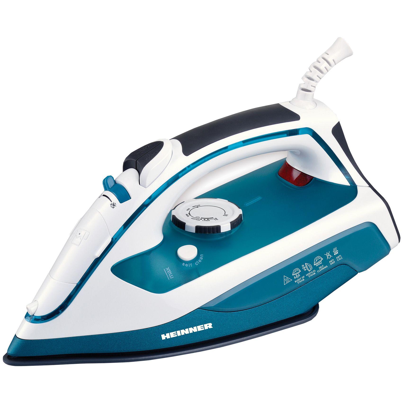 Fier de calcat Heinner Soft Turquoise HSI-2400TQ 2400W Capacitate 300ml Alb/Turcoaz