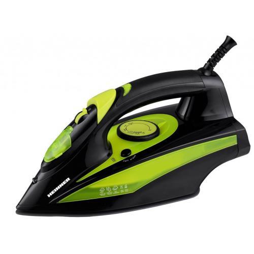 Fier de calcat Heinner Perform 6060 2400W Capacitate 330ml Negru/Verde