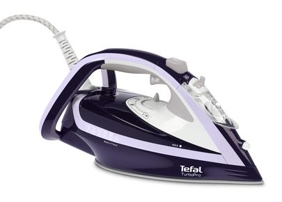 Fier de calcat Tefal Turbo Pro FV5615E0 2600W Capacitate 300ml Alb/Albastru