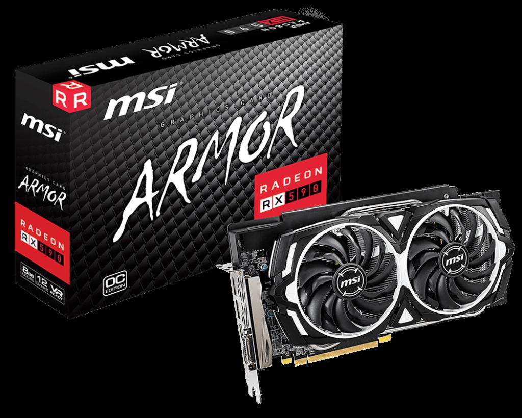 Placa Video MSI Radeon RX 590 ARMOR 8GB GDDR5 256 biti