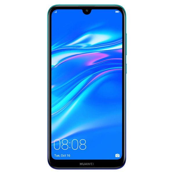 Telefon Mobil Huawei Y7 (2019) 32GB Flash 3GB RAM Dual SIM 4G Aurora Blue