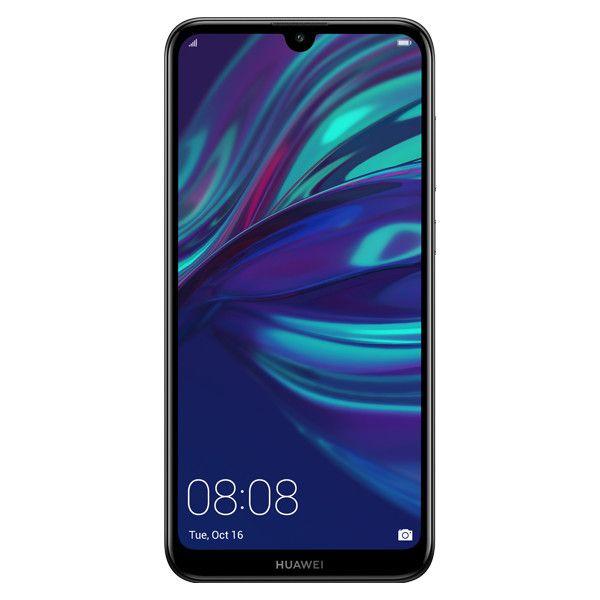 Telefon Mobil Huawei Y7 (2019) 32GB Flash 3GB RAM Dual SIM 4G Midnight Black