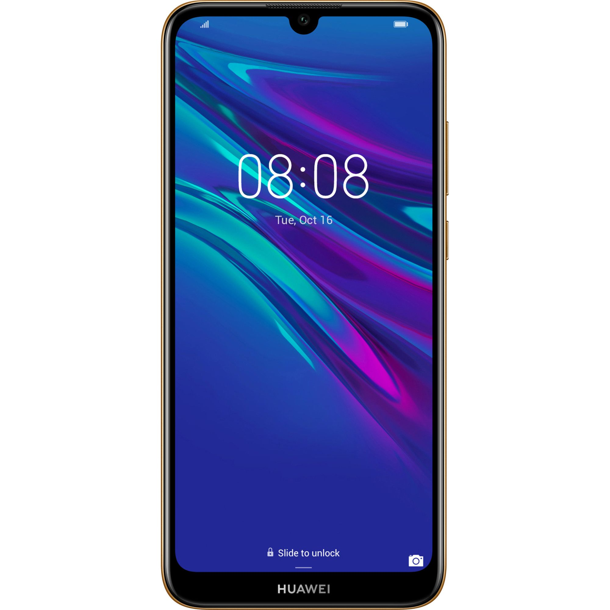 Telefon Mobil Huawei Y6 (2019) 32GB Flash 2GB RAM Dual SIM 4G Amber Brown