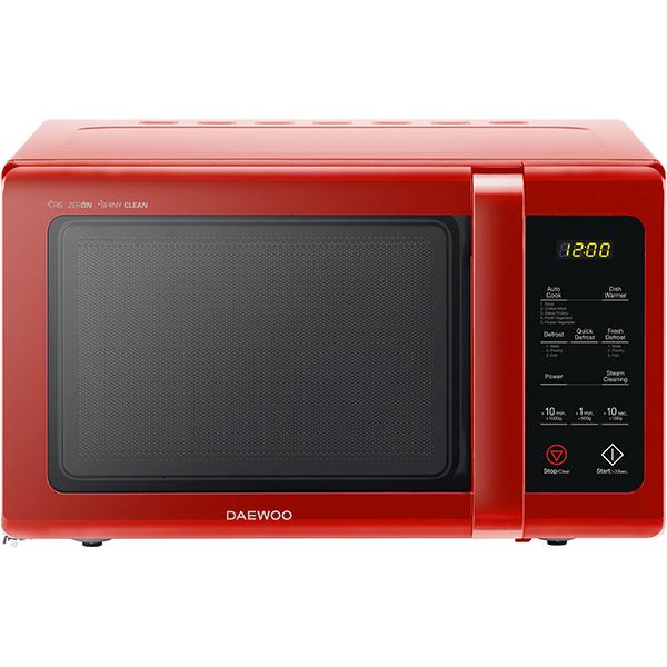 Cuptor cu microunde Daewoo KOR-91RBR 900W 25L Digital Rosu