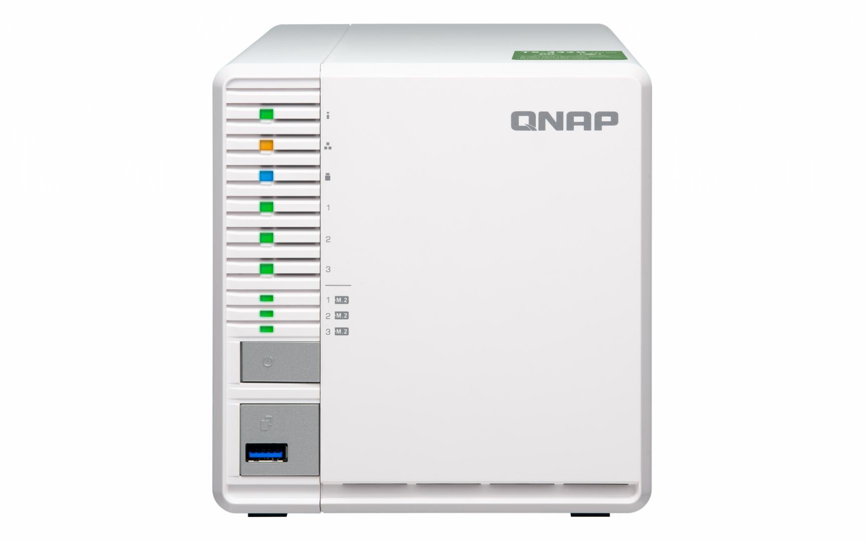 NAS Qnap TS-332X-2G 2xGigabit 3-bay fara HDD-uri