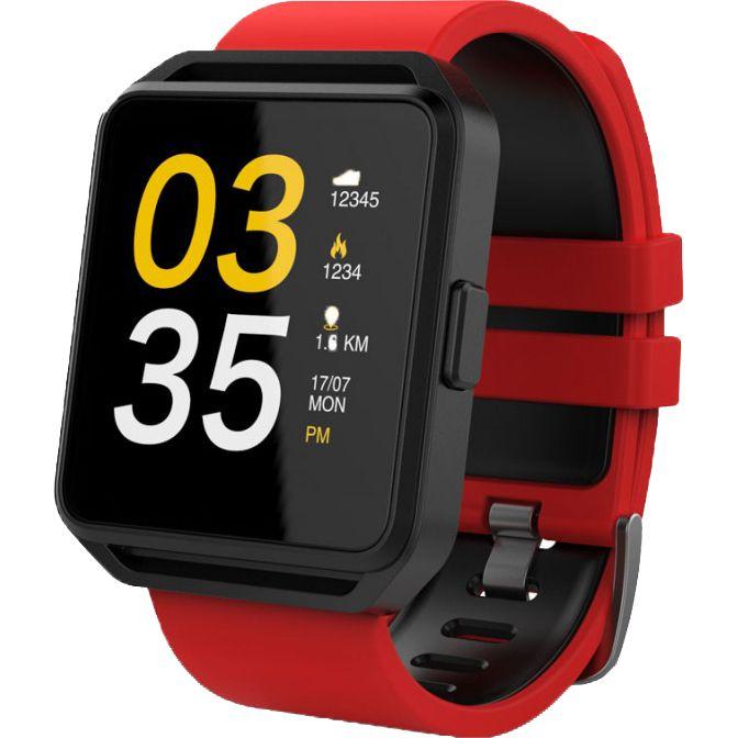 Smartwatch Maxcom FitGo FW15 Square Red