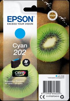Cartus Inkjet Epson 202 Claria Cyan