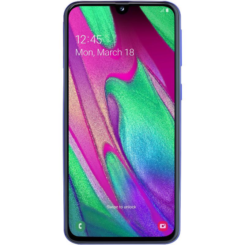 Telefon Mobil Samsung Galaxy A40 64GB Flash 4GB RAM Dual SIM 4G Blue