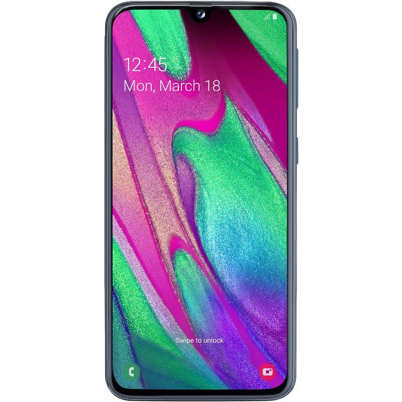 Telefon Mobil Samsung Galaxy A40 64GB Flash 4GB RAM Dual SIM 4G Black