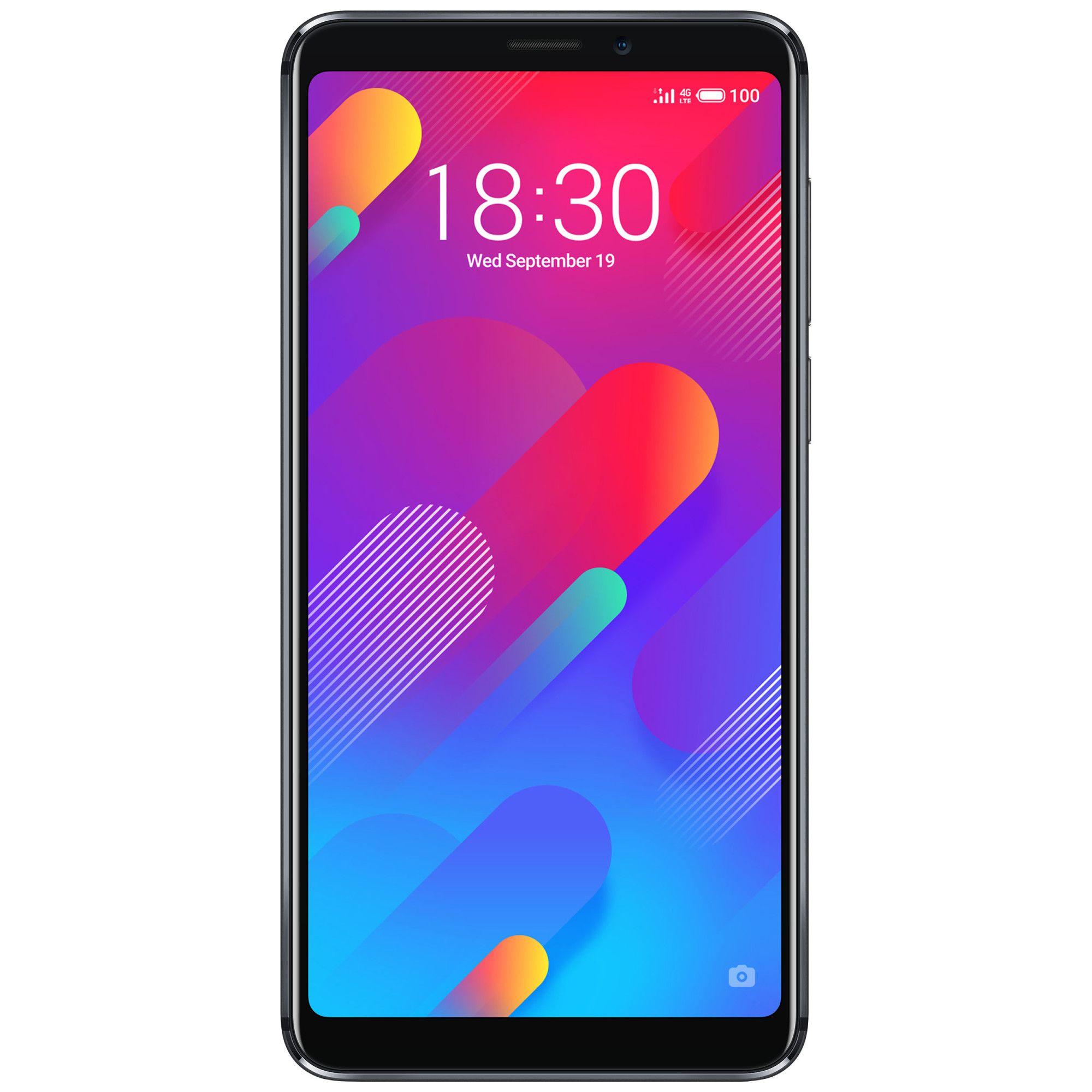 Telefon Mobil Meizu M8 64GB Flash 4GB RAM Dual SIM 4G Black