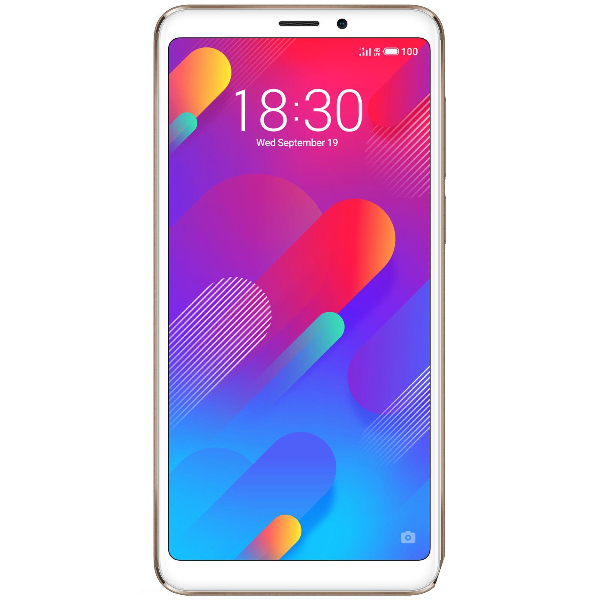 Telefon Mobil Meizu M8 64GB Flash 4GB RAM Dual SIM 4G Gold
