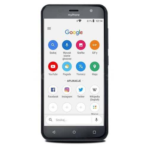 Telefon Mobil MyPhone Fun6 Lite 8GB Flash 512MB RAM Dual SIM 3G Grey