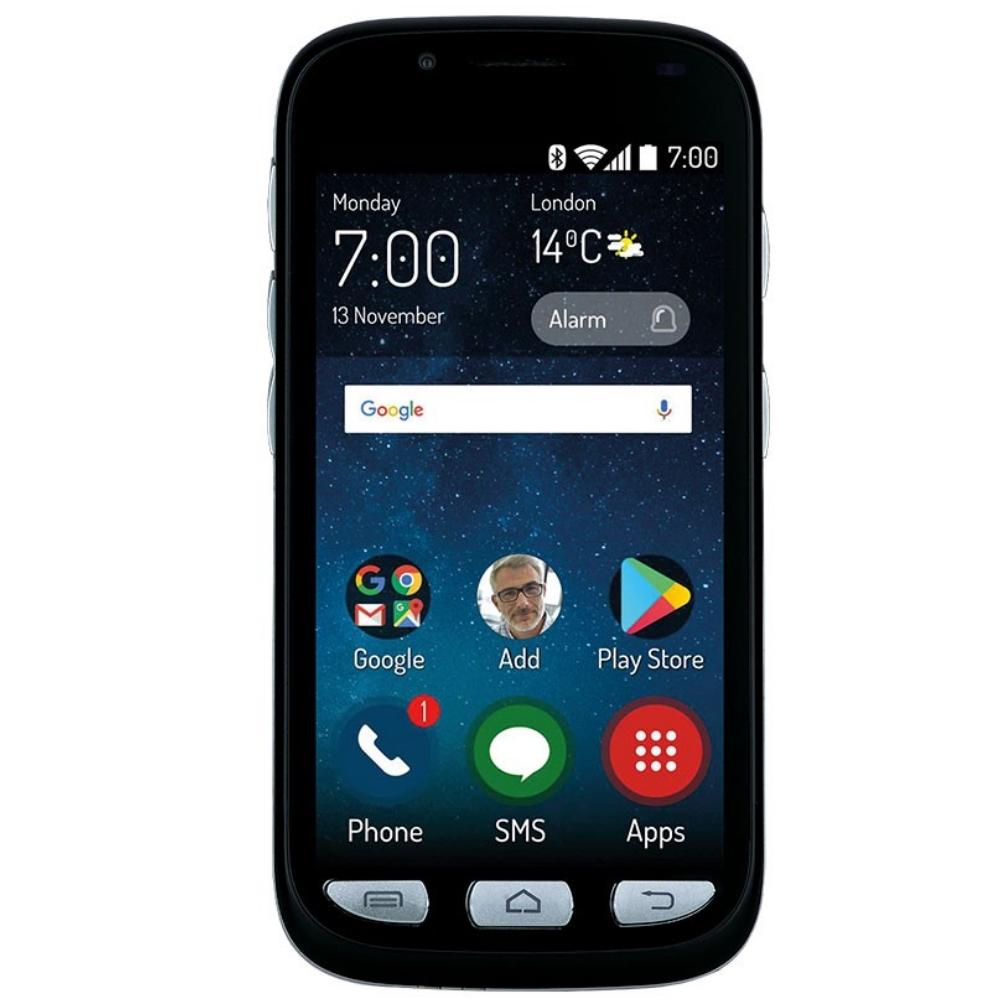 Telefon Mobil Maxcom Smart MS459 Harmony 16GB Flash 2GB RAM Dual SIM 4G Black