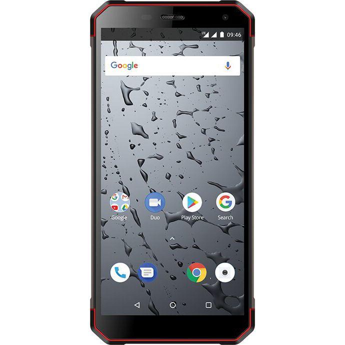 Telefon Mobil Maxcom Smart MS571 Strong 32GB Flash 3GB RAM Dual SIM 4G Black/Red