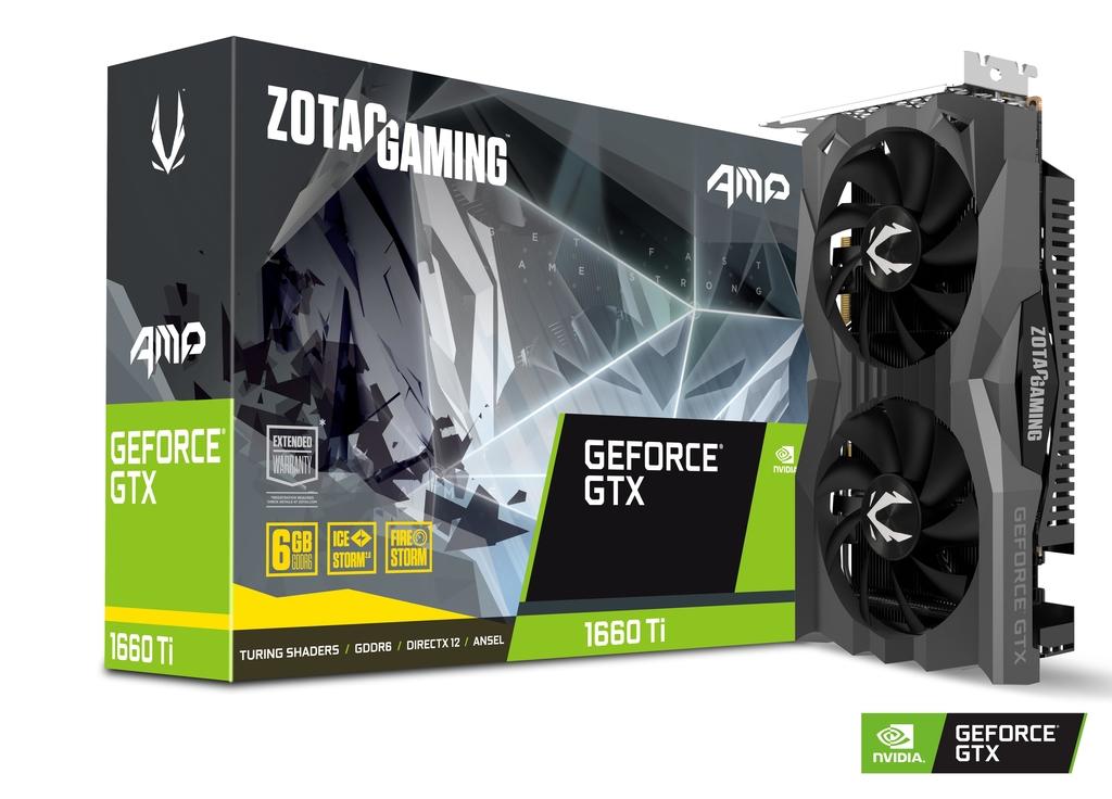 Placa Video Zotac nVidia GeForce GTX 1660 Ti AMP Edition 6GB GDDR6 192 biti