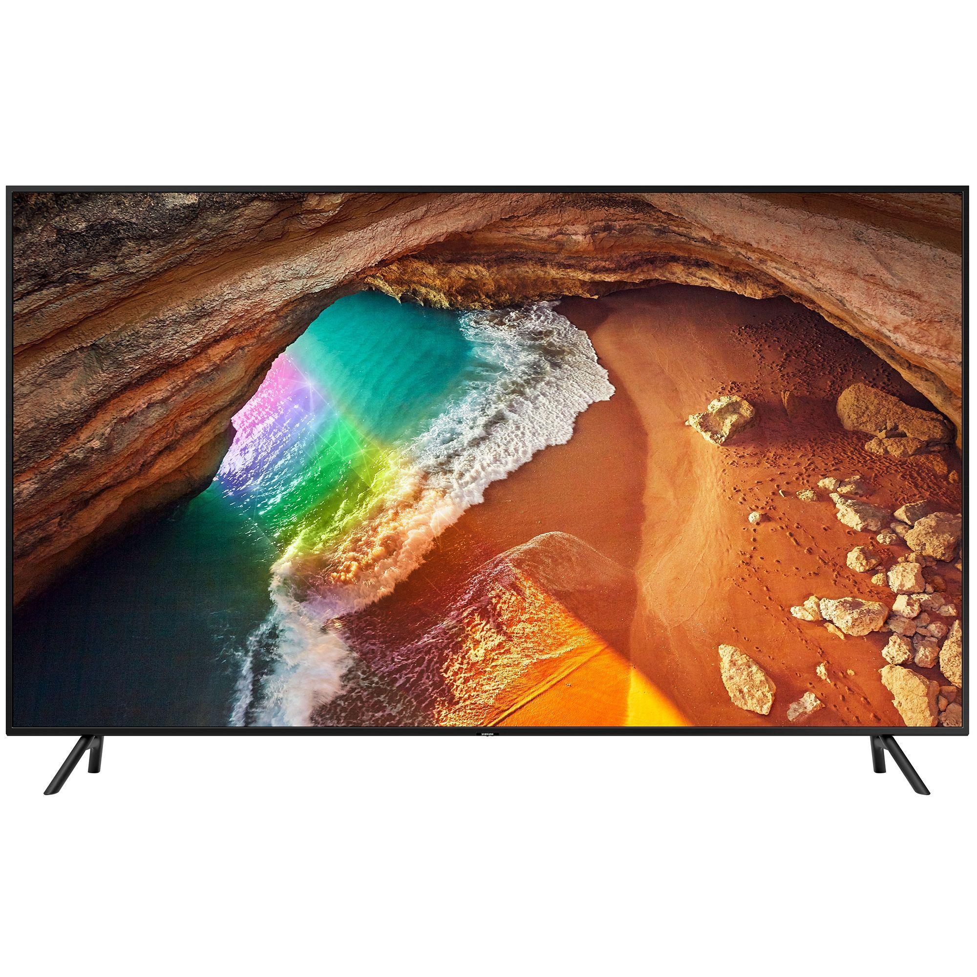 Televizor QLED Samsung Smart TV QE65Q60RAT 163cm 4K Ultra HD Negru