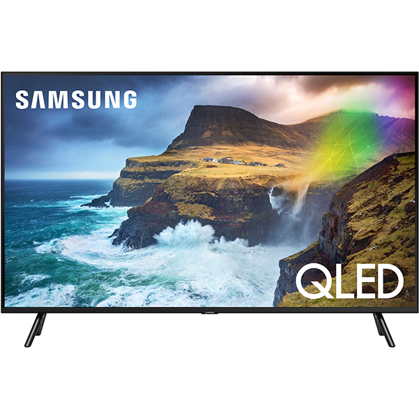 Televizor QLED Samsung Smart TV QE65Q70RAT 163cm 4K Ultra HD Negru