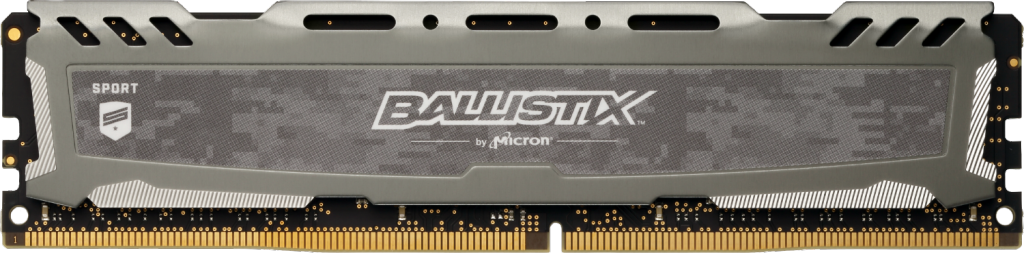 Memorie Desktop Crucial Ballistix Sport LT Gray 16GB DDR4 3200MHz CL16