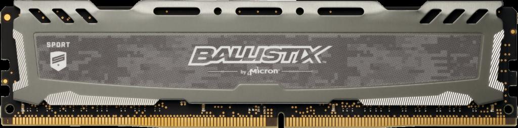 Memorie Desktop Crucial Ballistix Sport LT Gray 8GB DDR4 3000MHz CL15