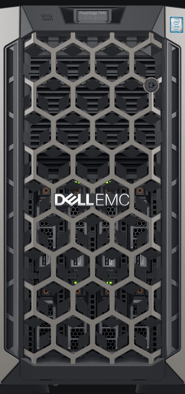 Server Dell PowerEdge T440 Intel Xeon Silver 4110 16GB RAM 600GB SAS PERC H330 750W Single HotPlug