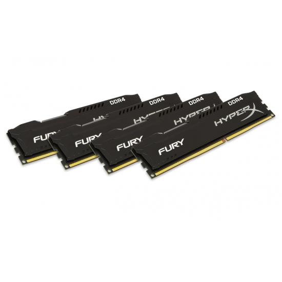 Memorie Desktop Kingston HyperX Fury HX424C15FB2K4/32 32GB(4 x 8GB) DDR4 2400Mhz