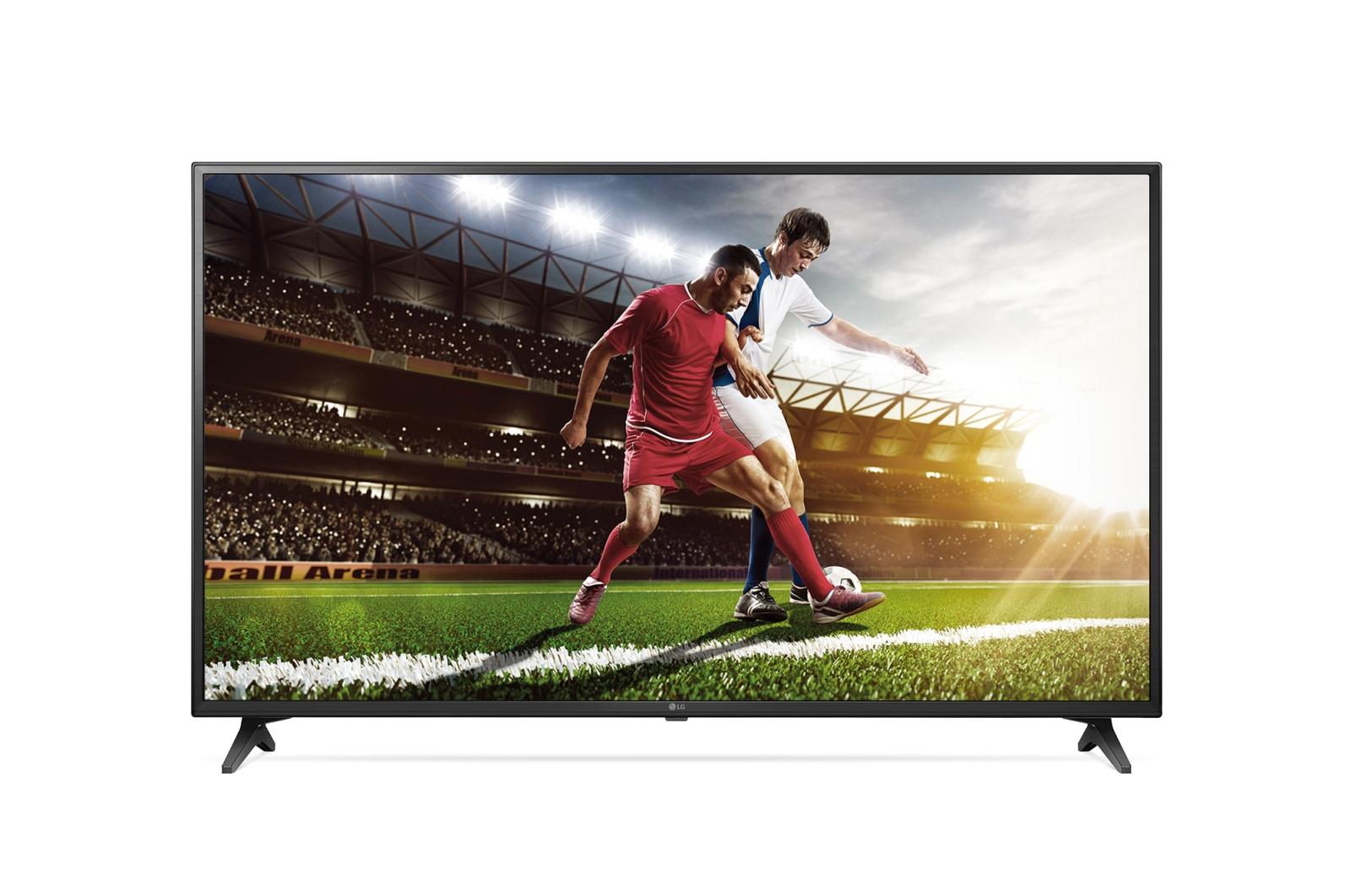 Televizor Led Lg Smart Tv 60uu640c 162cm Comercial 4k Ultra Hd Negru