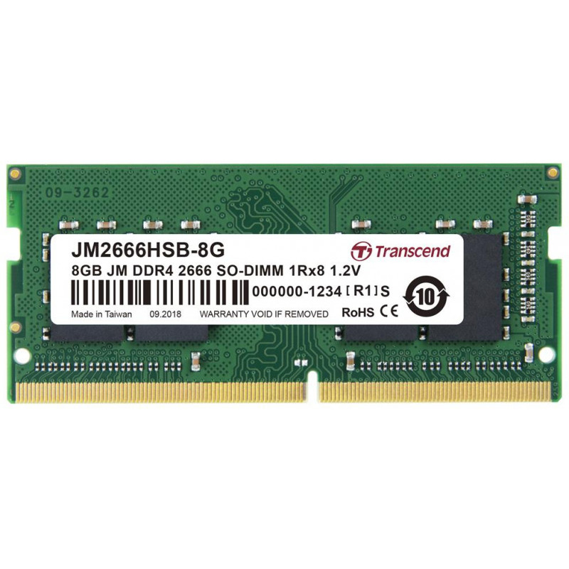 Memorie Notebook Transcend JM2666HSB-8G 8GB DDR4 2666Mhz CL19