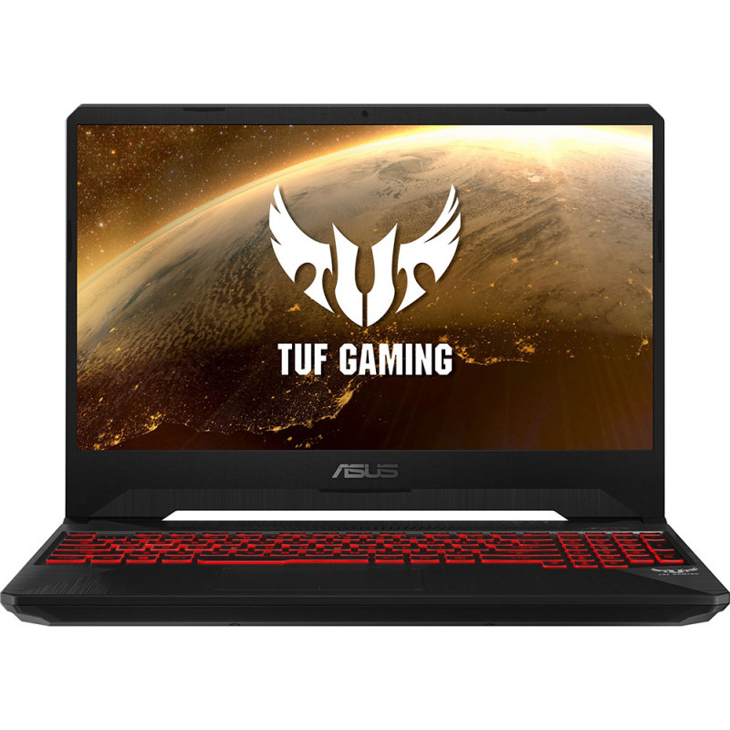 Notebook Asus TUF FX505GM 15.6 Full HD Intel Core i5-8300H GTX 1060-6GB RAM 8GB HDD 1TB + SSD 128GB No OS Negru