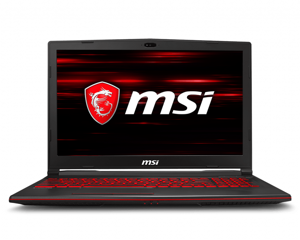 Notebook MSI GL63 8RE 15.6 Full HD Intel Core i7-8750H GTX 1060-6GB RAM 8GB HDD 1TB FreeDOS