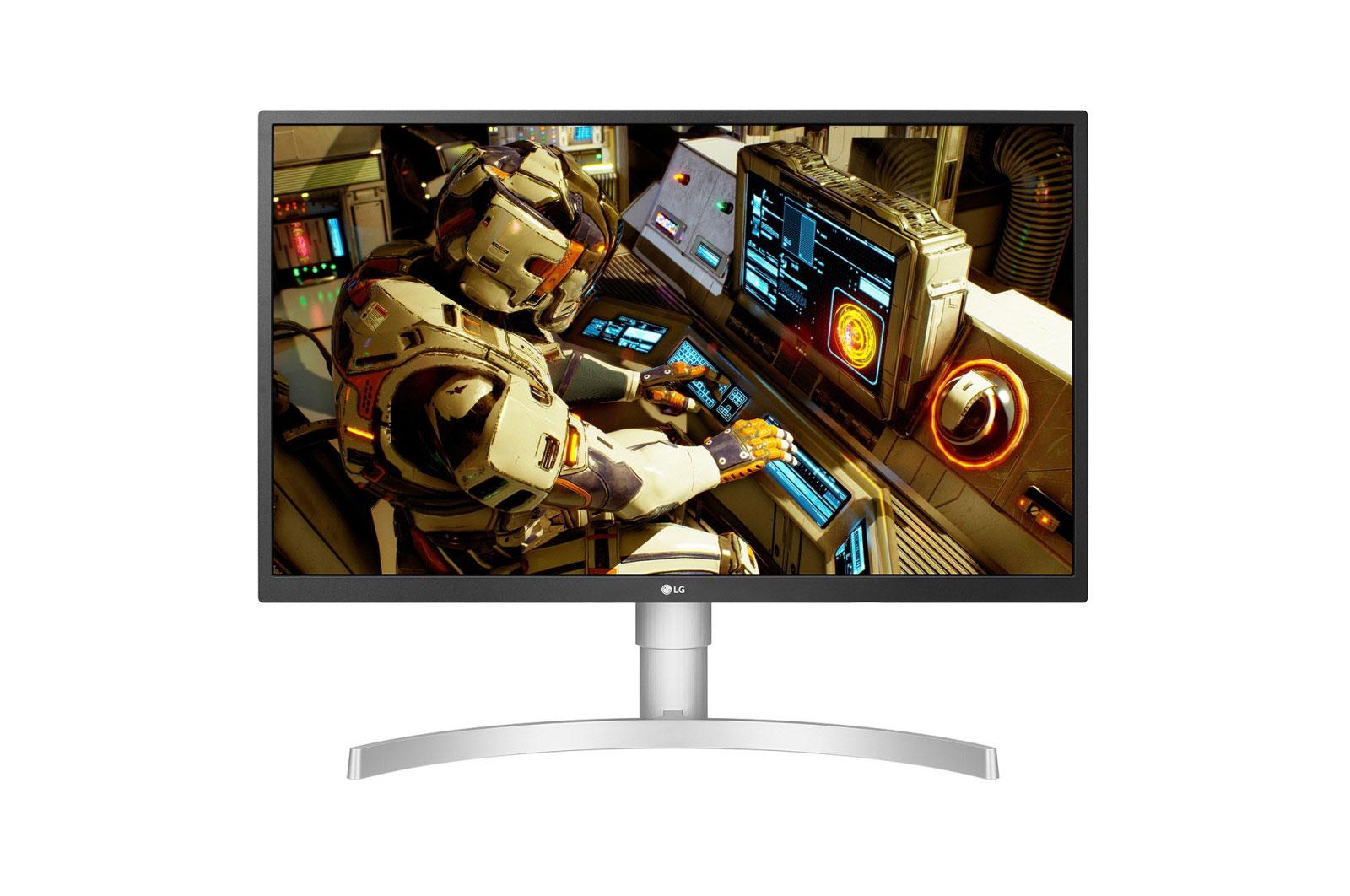 Monitor LED LG 27UL550-W 27 4K Ultra HD 5ms Alb